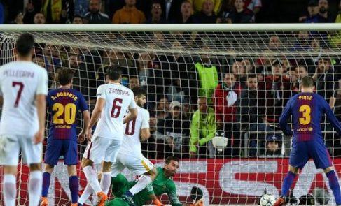 Roma consegue virada histórica, elimina Barcelona e vai à semi da Champions 85