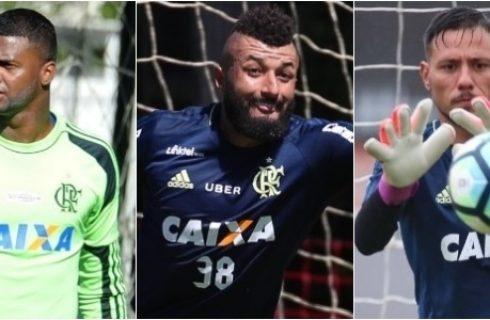 Felipe, Muralha, Diego Alves… Fla sofre com quem jurava não ter problemas
