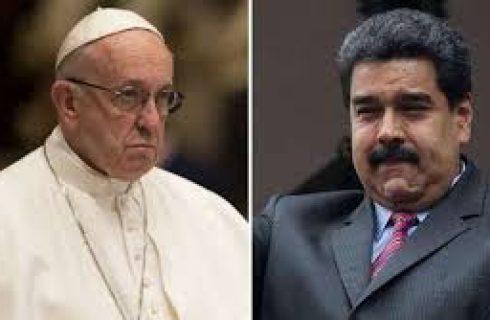 Nem o Papa confia em Maduro