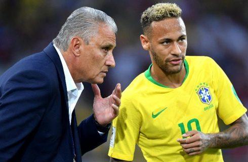 Tite se cala e só vai falar sobre soco de Neymar após conversa com atacante