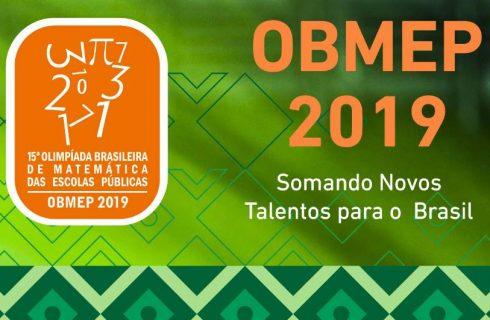 Alunos da rede municipal de ensino são classificados para a 2ª fase da OBMEP 2019