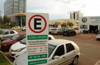 Estacionamento rotativo de Palmas volta a funcionar sem tempo de tolerância; veja valores