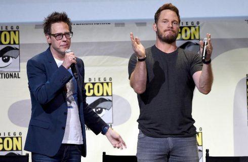 """Chris Pratt e elenco de """"Guardiões"""" saem em defesa de diretor demitido"""