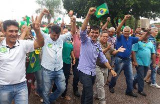 Aos 29 anos, Radilson Pereira é eleito prefeito de Sandolândia