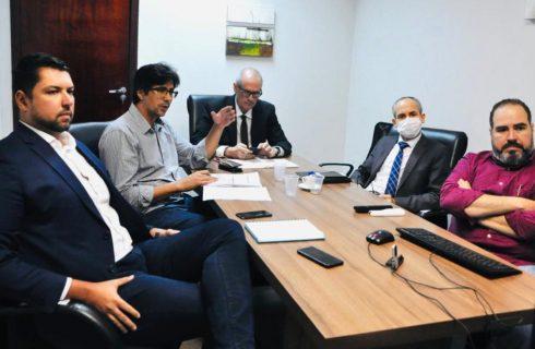 Saúde realiza videoconferência com representantes de órgãos de controle para averiguar o aumento do preço das aquisições